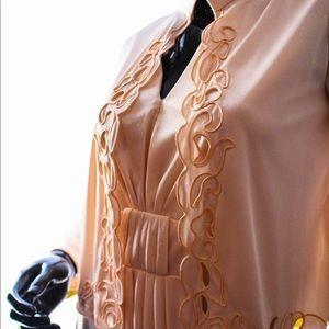 Vintage 70's Dress and Jacket Set